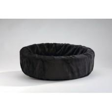 Hondenmand teddy 40cm zwart