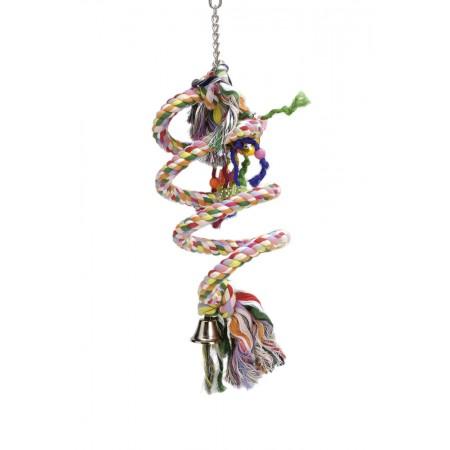 Beeztees Agapornide Spiraal - Vogelspeelgoed - 70x15 cm 70 X 15