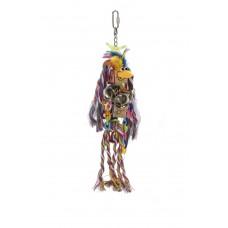 Beeztees Agapornide Lettertouw - Vogelspeelgoed - 35x8 cm 35 X 8