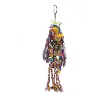 Beeztees Agapornide Lettertouw - Vogelspeelgoed - 35x8 cm 35 X 8 CM
