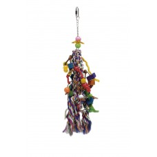 Beeztees Vogelspeelknots - Vogelspeelgoed - 50x10 cm 50 X 10 CM