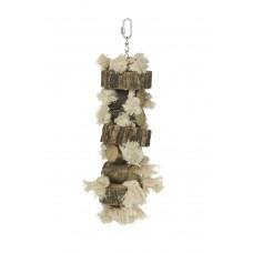 Beeztees Agapornide Speeltouw - Vogelspeelgoed - 42 cm 42 CM