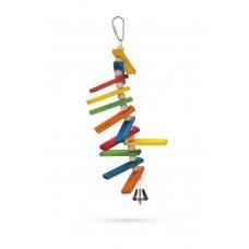 Beeztees Tikkie - Vogelspeelgoed - Hout - 23 cm 23 CM