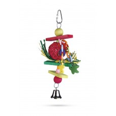 Beeztees Trinox - Vogelspeelgoed - Hout - 22 cm 22 CM
