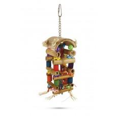 Beeztees Toren - Vogelspeelgoed - 20 cm 20 CM