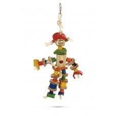 Beeztees Verschrikker - Vogelspeelgoed - 25 cm 25 CM