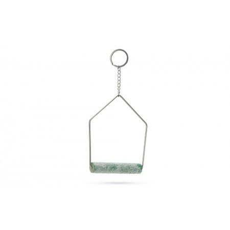 Beeztees Curvy Nagelslijtschommel - Vogelspeelgoed - 19x12 cm 19