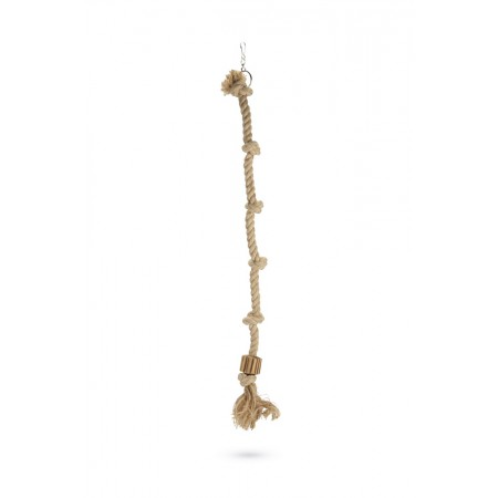 Beeztees Aiko - Vogelspeelgoed - Hout - Bruin - L - 100 cm 100 CM