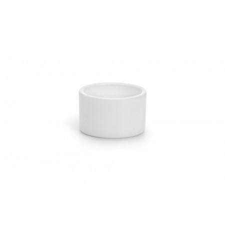 Vogelbakje Rond - Vogel - Plastic - Wit - Klein DIA  5,5 CM LENG