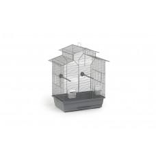 Beeztees Iza 2 Pagode - Vogelkooi - Grijs - 45x28x59,5 cm 45 X 2