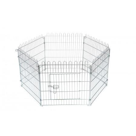 Beeztees - Konijnenren - Metaal - 60x60 cm 60 X 60 CM DIA 110 CM