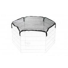 Beeztees Afdeknet - Konijnenren - 6x60 cm 6 X 60 CM DIA 110 CM