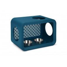 Beeztees Cat Cube Dinner - Kattenhuis - Persian Petrol - 49 cm 4