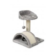 Beeztees Puska Trendy - Krabpaal - Grijs - 35x35x44 cm 36 X 35 X