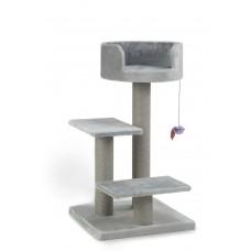 Beeztees Figo - Krabpaal - Grijs - 50x50x92 cm 50 X 50 X 92 CM