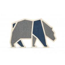 Beeztees Blue Bear - Krabplank - Hout - 84x54x1,8 cm 84 X 54 X 1