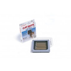 Catmate Kattendeur 304B - Kattenluik - Bruin 192X200 MM