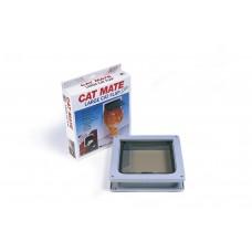 Catmate Kattendeur 221 - Kattenluik - Bruin - Groot 235X252 MM