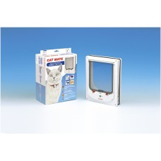 Catmate Kattendeur Elektromagnetisch 256 - Kattenluik - Wit - Gr