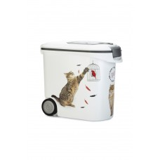 Curver - Voedselcontainer Kat - Wit - 35L - 12Kg INHOUD 35 LTR