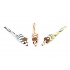 Beeztees Micies Muisjes - Kattenspeelgoed - 4 cm - 3ST 4 CM