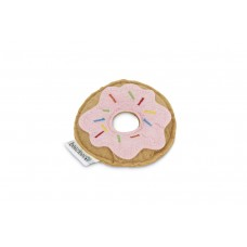 Beeztees Donut - Kattenspeelgoed - Roze - 7,5x7,5x1,5 cm 7,5 X 7