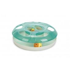 Beeztees Scudie Trainingwiel - Kattenspeelgoed - Groen - 25cm DI