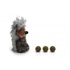 Beeztees Egel - Kattenspeelgoed - Incl. Catnipballen - 9,5 cm 12