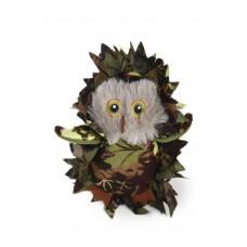Beeztees Camouflage Uil - Kattenspeelgoed - Groen - 10 cm 10 CM