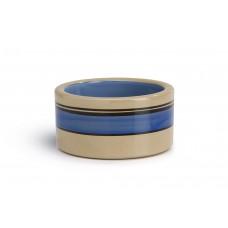 Beeztees Poezenbak - Kattenvoerbak - Keramiek - Blauw - 11,5 cm