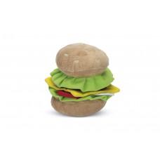 Beeztees Burger - Hondenspeelgoed - Pluche - 14x12,5x11 cm 14 X