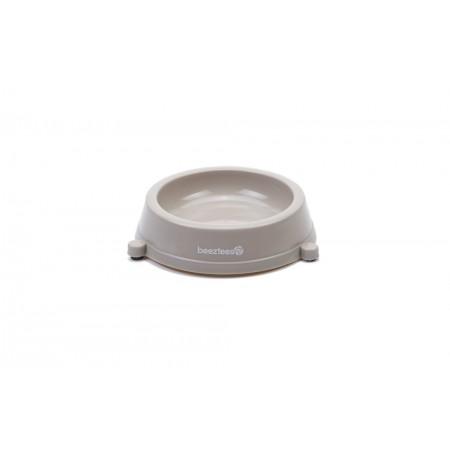 Beeztees - Kattenvoerbak - Anti-Slip - Beige - 0,2L DIA: 14 CM /