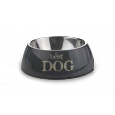 Beeztees Best Dog - Hondenvoerbak - Grijs - 18x6,5 cm 18 X 6,5 C