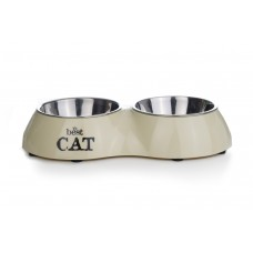 Beeztees Best Cat - Dinerset Kat - Beige - 26x15 cm 26 X 15 CM I