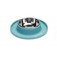 Beeztees - Hondenvoerbak - Siliconen - Mint - 19x3,5 cm 19 X 3,5