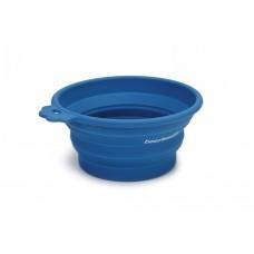 Beeztees - Hondenvoerbak - Inklapbaar - Blauw - 17x15 cm 17 X 15