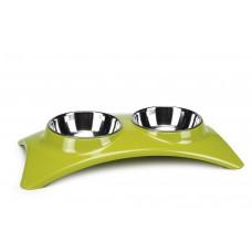 Beeztees Nami - Dinerset Hond - Lichtgroen - 41x21x7 cm 41X21X7
