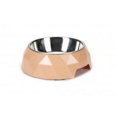 Beeztees Diamond - Hondenvoerbak - Roze - 18x5 cm 18 X 5 CM, INH