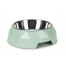 Beeztees Diamond - Hondenvoerbak - Groen - 22x7 cm 22 X 7 CM, IN