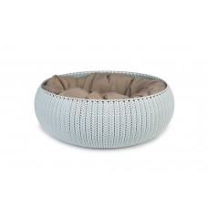 Curver Cozy Pet Bed - Kattenmand - Lichtblauw - 50 cm DIA 50 CM,