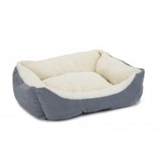 Beeztees Mogina - Kattenmand - Pluche - Blauw - 45x37x18 cm 48 X