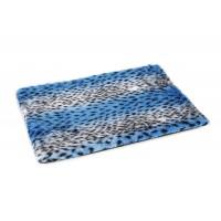 Beeztees Teddy - Hondenkussen - Bench - Blauw - 57x40x3,5 cm 57