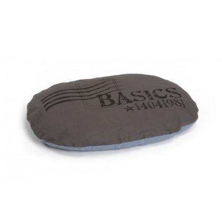 Beeztees Basics - Hondenkussen - Bruin/Grijs - 79x55 cm 79 X 55
