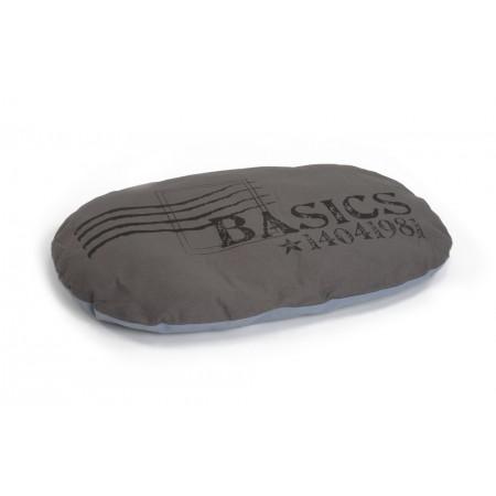 Beeztees Basics - Hondenkussen - Bruin/Grijs - 97x67 cm 97 X 67