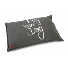Beeztees Hug Your Dog - Hondenkussen - Antraciet - 100x70 cm 100