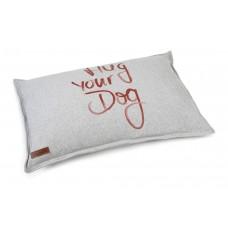 Beeztees Hug Your Dog - Hondenkussen - Grijs - 100x70 cm 100 X 7