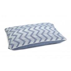 Beeztees Zigzag - Hondenkussen - Blauw - 100x70 cm 100 X 70 CM