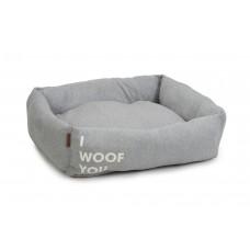 Beeztees Woof You - Hondenmand - Grijs - 80x70x22 cm 80 X 70 X 2
