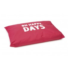 Beeztees Happy Days - Hondenkussen - Rood - 100x70 cm 100 X 70 C