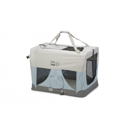 Beeztees Travel Time - Hondenbench - Nylon - 81x58x58 cm 81 X 58